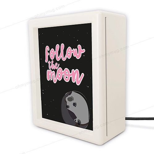 CAJA DE LUZ LUSCOFUSCO INFANTIL FOLLOW THE MOON