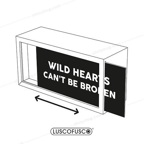 LIGHTBOX LUSCOFUSCO PANTALLA WILD HEARTS