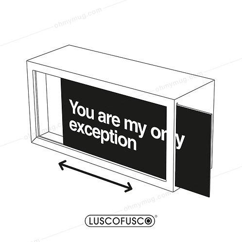 LIGHTBOX LUSCOFUSCO PANTALLA YOU ARE