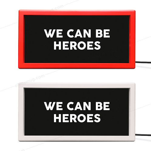 CAJA DE LUZ COLOR WE CAN BE HEROES