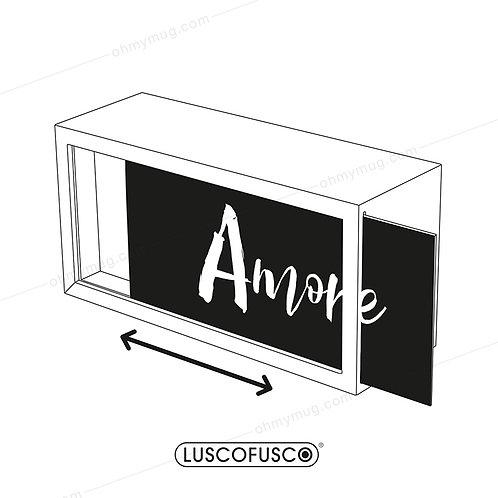 LIGHTBOX LUSCOFUSCO PANTALLA AMORE