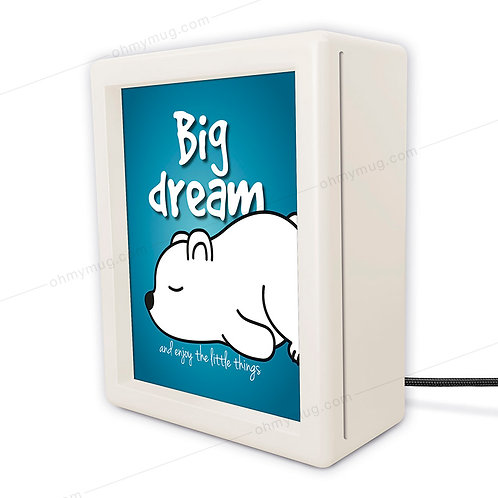 CAJA DE LUZ INFANTIL LUSCOFUSCO BIG DREAM AND ENJOY