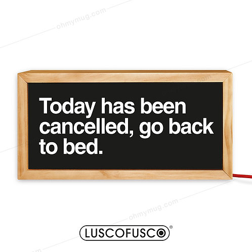 LIGHTBOX TODAY HAS BEEN CANCELLED