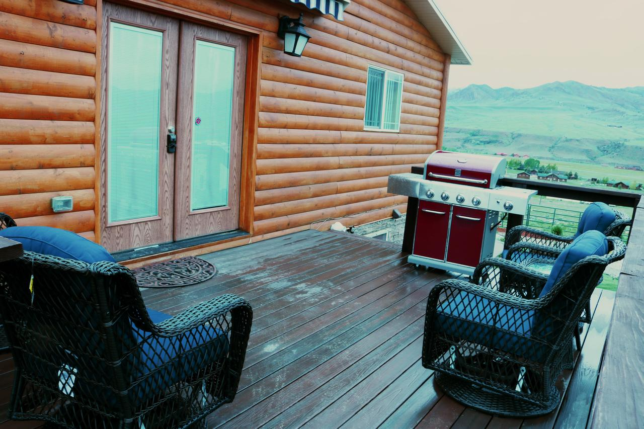 Deck and Barbeque