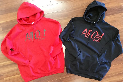 """ALL OUT """"17"""" HOODIES"""