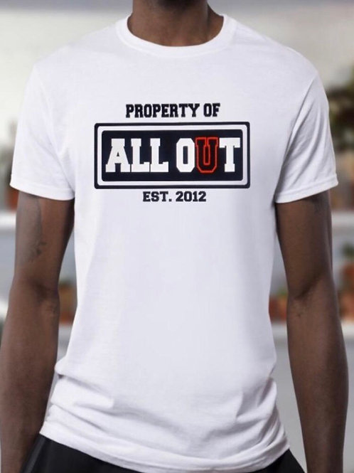 All Out Property Tees