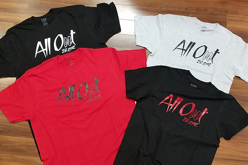 ALL OUT 2017 Tee