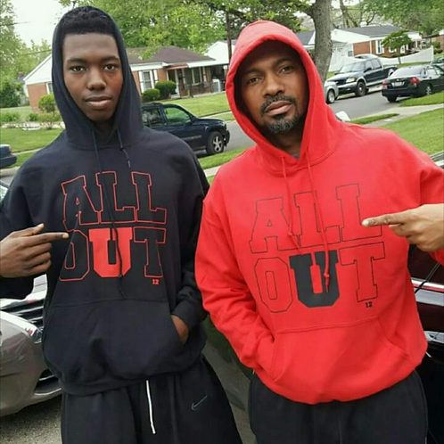 All OUT CLASSIC HOODIE