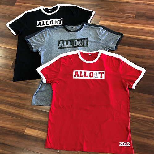 ALL OUT 2018- SOCCER TEES