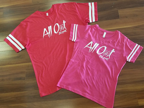 ALL OUT 2017 JERSEY TEES