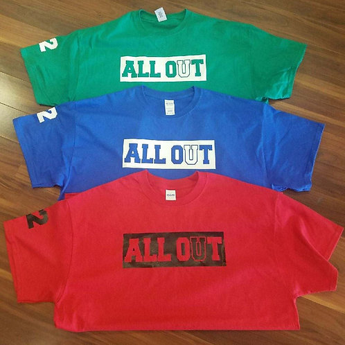 ALL OUT 2018 TEES