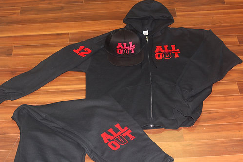 All Out Men's Zip up Jacket
