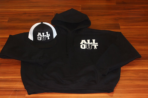 ALLL OUT Mens Hoodie