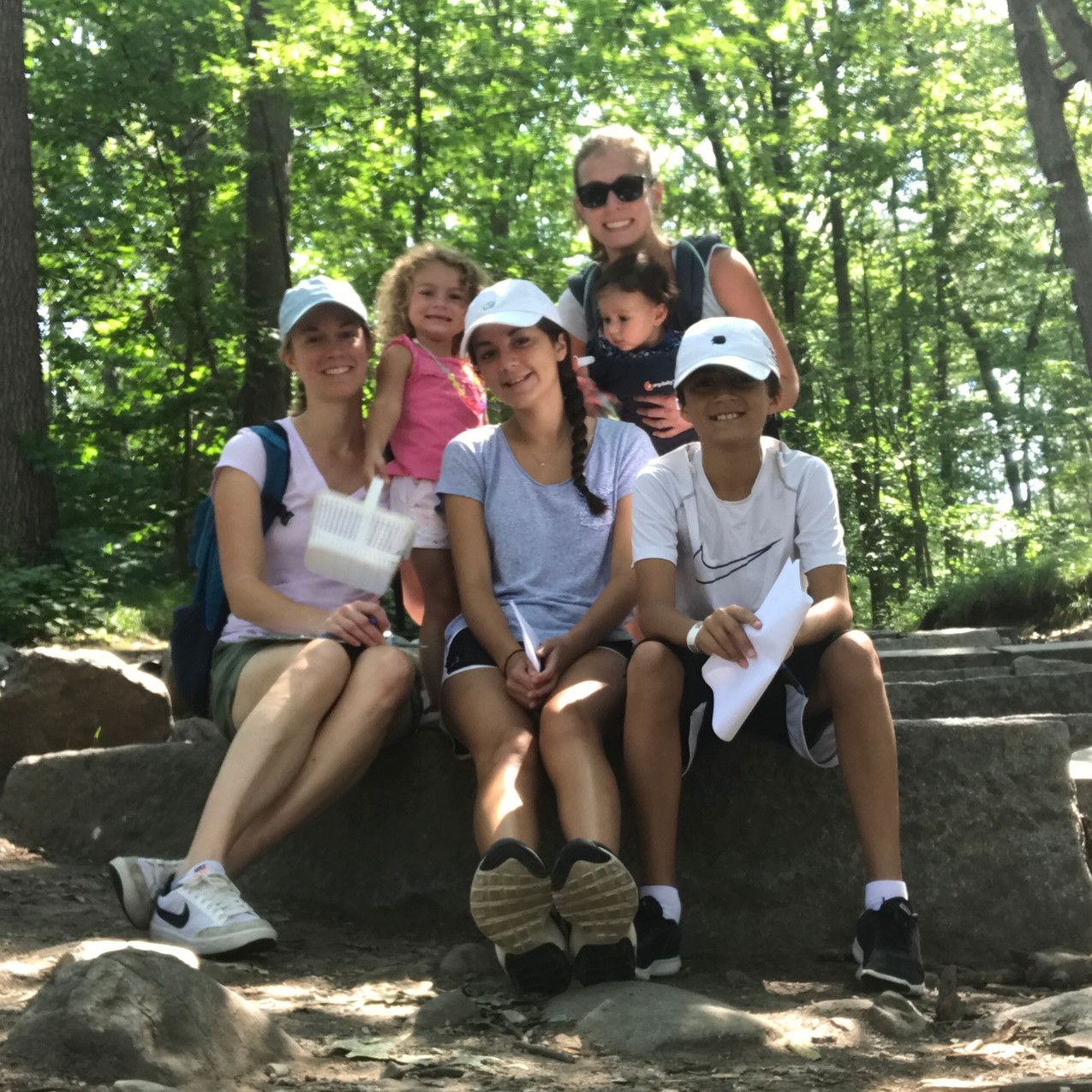 Family Hike in Summer