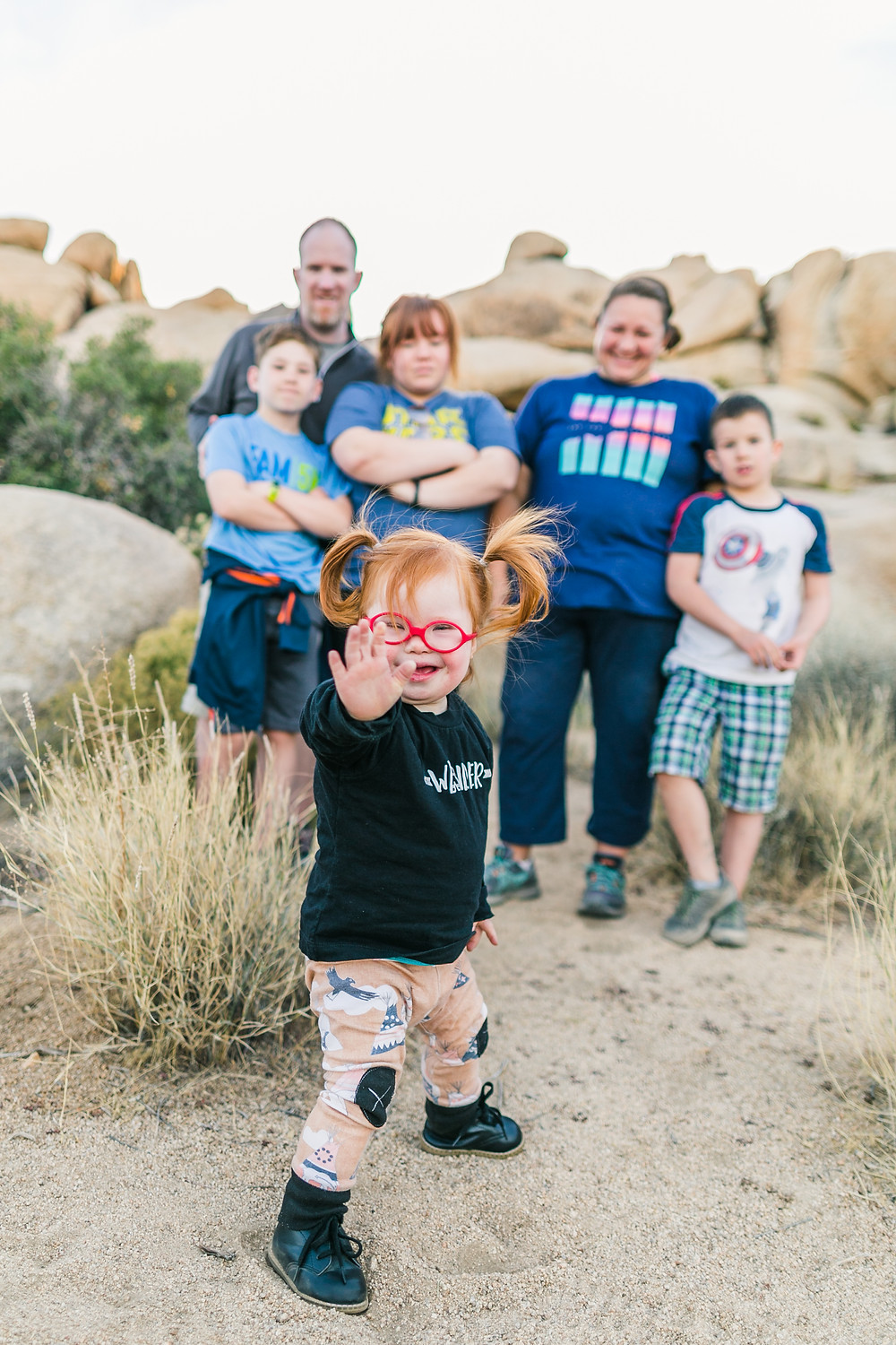 Ruby and Family of the Hike it Baby Community