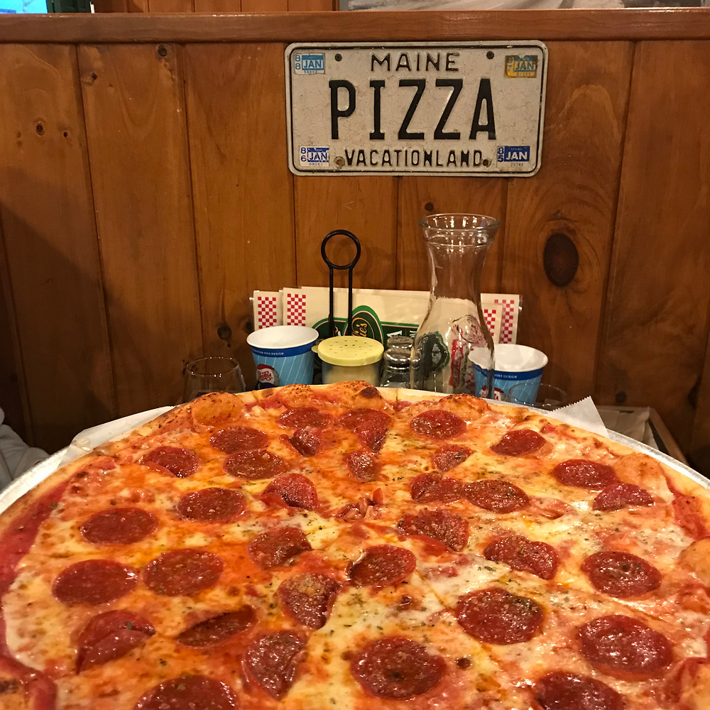 Rosalie's Pizza in Bar Harbor