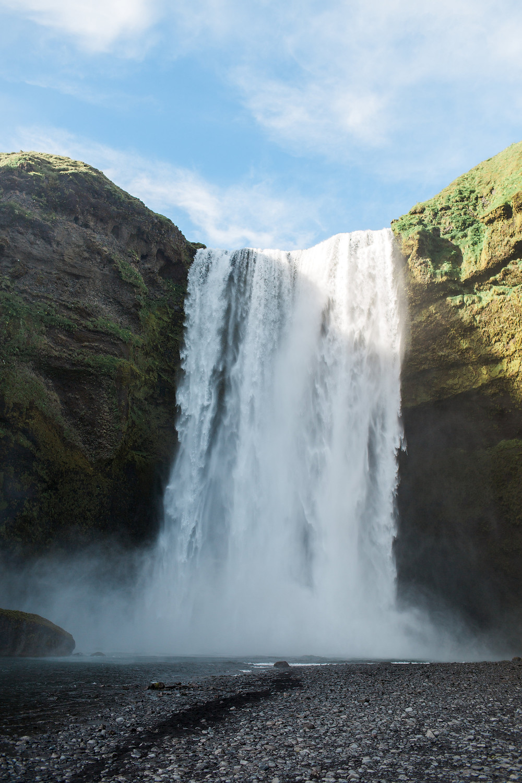 Skogafoss Falls, photo by K. Engel Photography