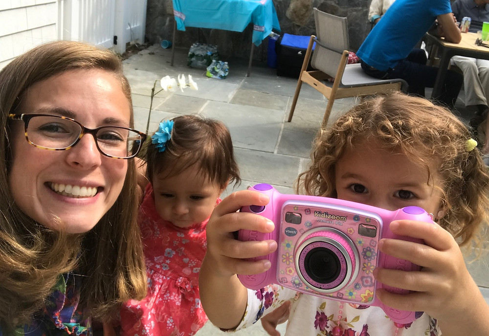 Giving the VTech KidiZoom Camera to my niece was the best gift for a 3 year old!