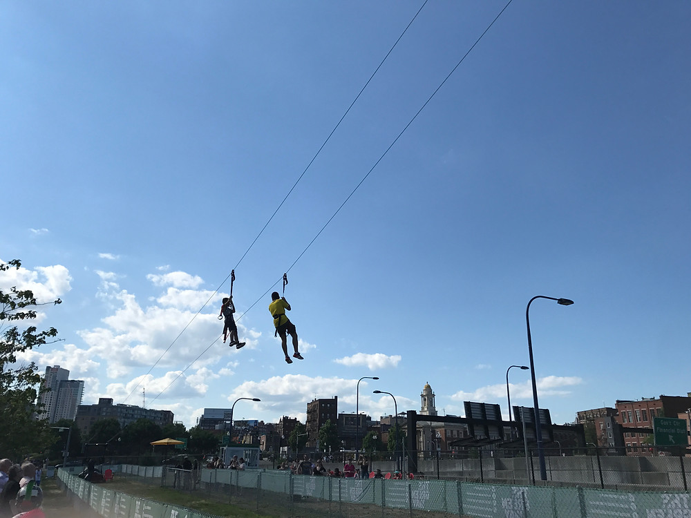 The Boston Zip Line