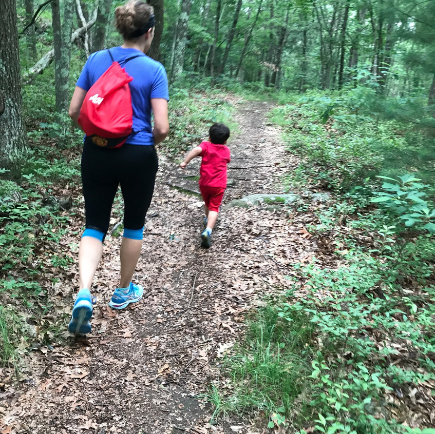 Our 3 Yr Old Hiking Guide