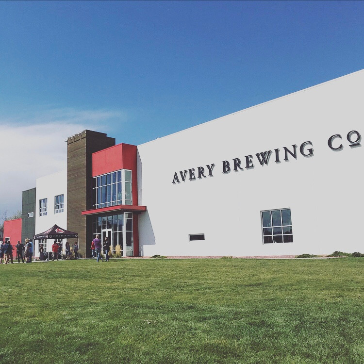 Avery Brewing Company- great food after a few days hiking