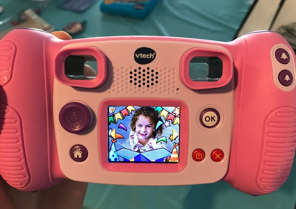 VTech Kidizoom Camera- experimenting with fun borders
