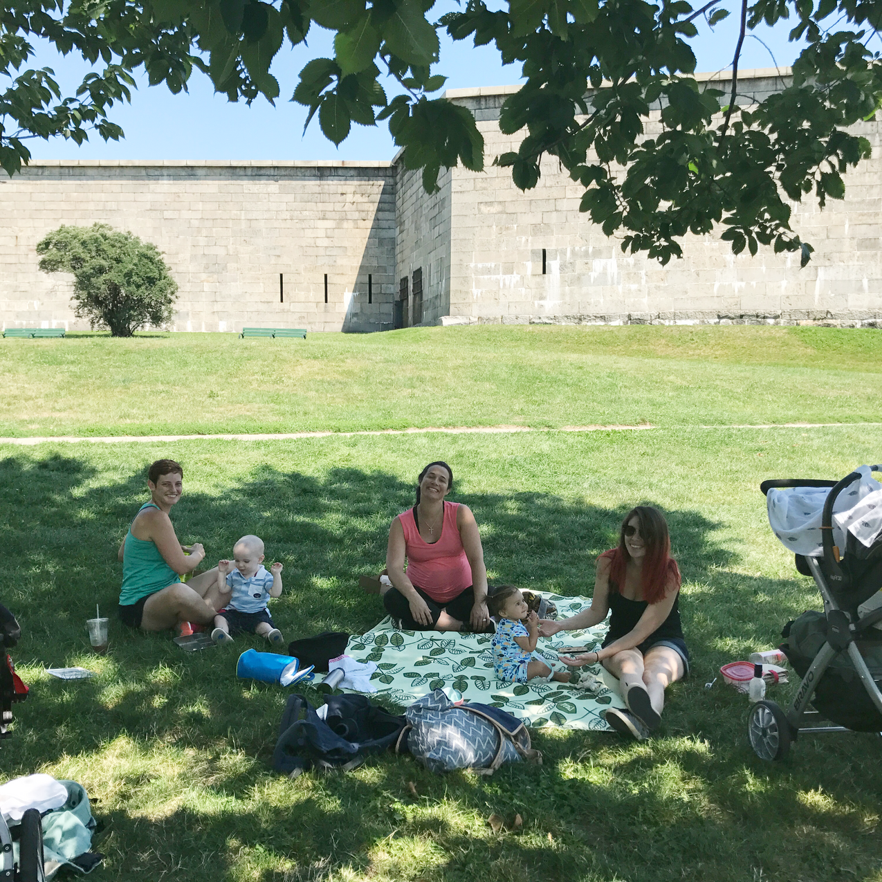 Picnic at Castle Island
