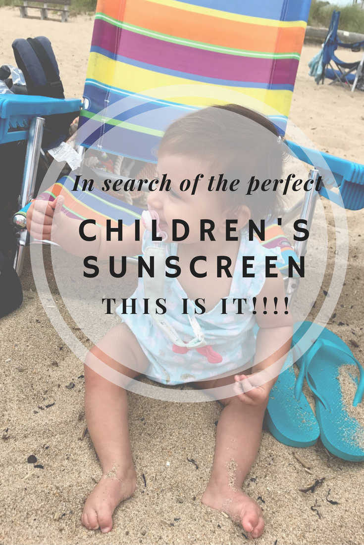 Pin this Image - Best Sunscreen for Children and Babies