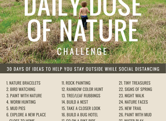 Daily Dose of Nature Challenge