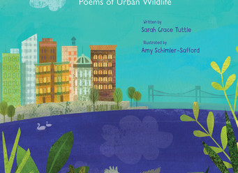 Giveaway and Review of Hidden City:  Poems of Urban Wildlife