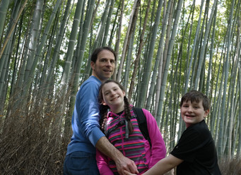 Exploring Abroad Series: Family Time in Sagano Bamboo Forest, Kyoto, Japan