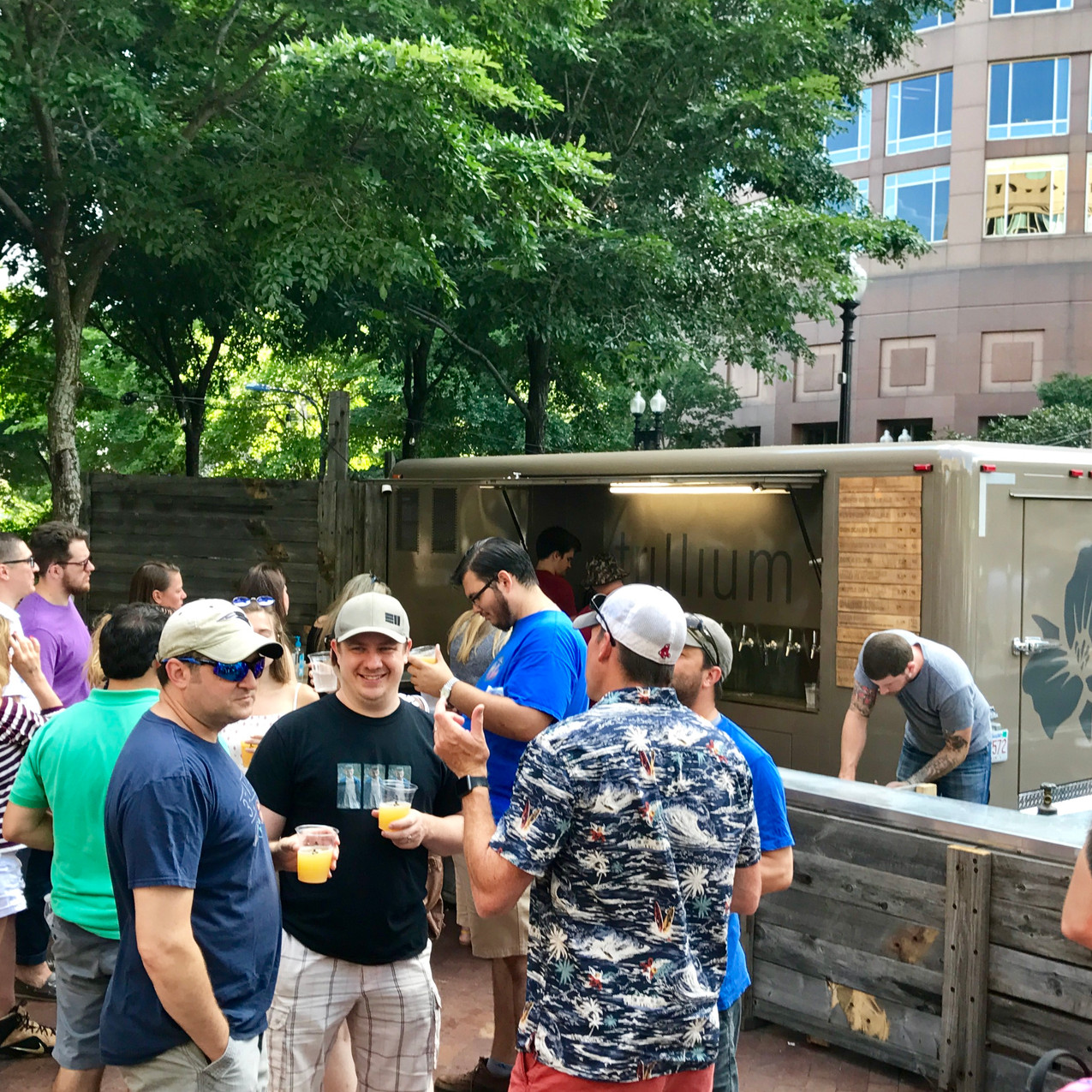 Trillium Beer Garden on the Greenway