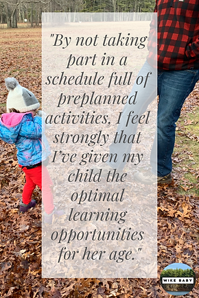 The Best Thing I Didn't Do With My Toddler | Exploring Outdoors with
