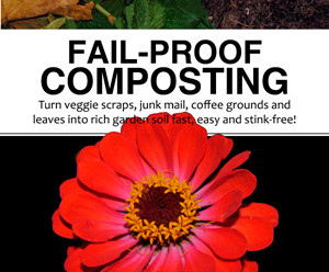 Make Just One Change Series: Composting!