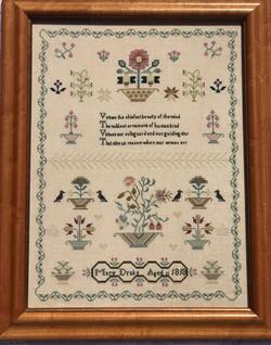 Mary Drake 1818 Sampler