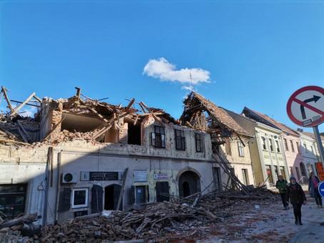 Prikupljanje pomoći za žrtve potresa u Petrinji i Sisku