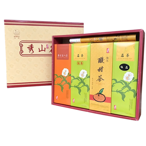 四季紅禮盒