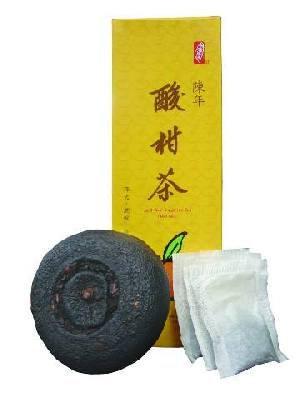 陳年酸柑茶