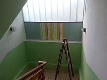 MŠ -Oloví-výmalba poschodí-stropu, stěn,