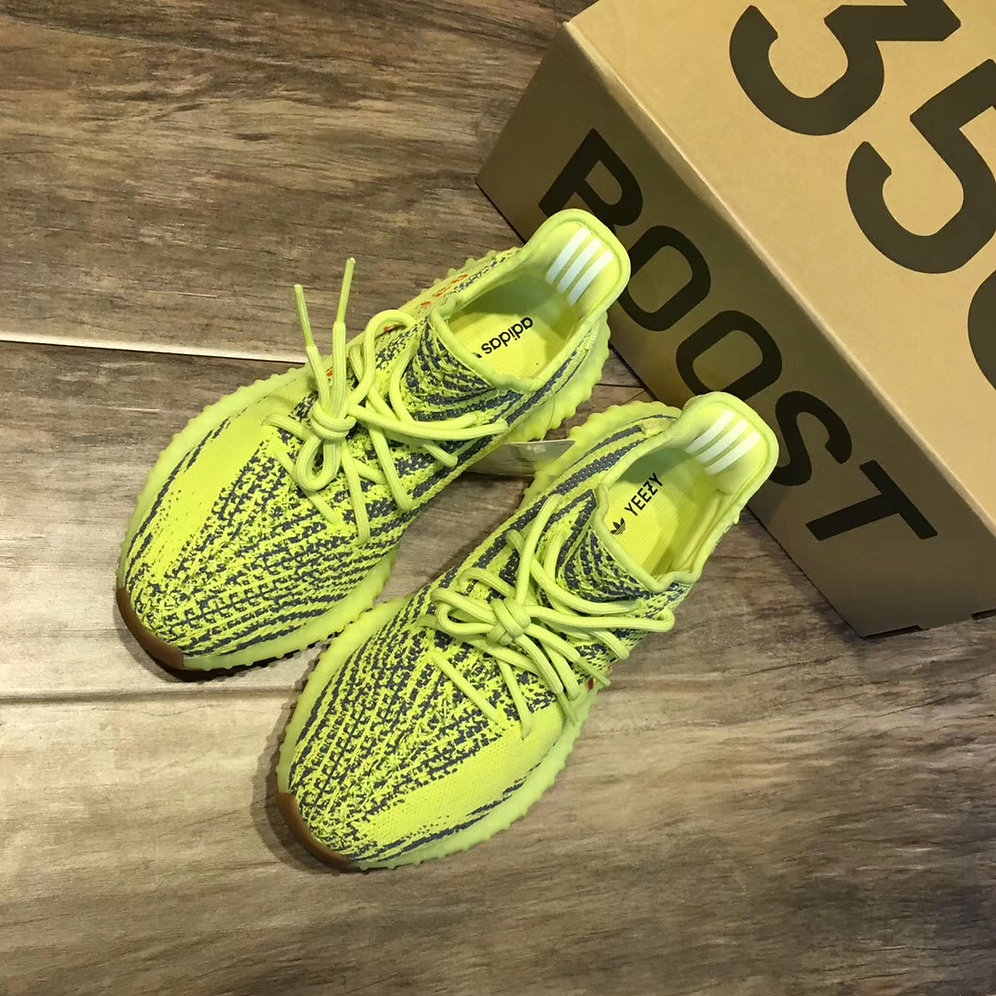 newest collection 026d2 c1d1e adidas Yeezy Boost 350 V2 Semi Frozen Yellow