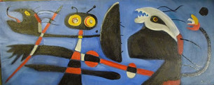 From Miro's Decoration of a Nursery