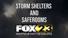 Shelters, saferooms opening ahead of Zeta