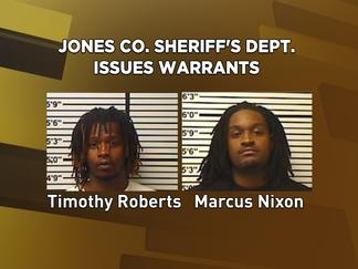 Jones Co. Sheriff's Dept. issues warrants in case involving drugs, burglary