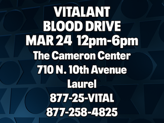 Vitalant holds blood drive in Laurel
