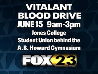 Vitalant, Jones College prepare for blood drive