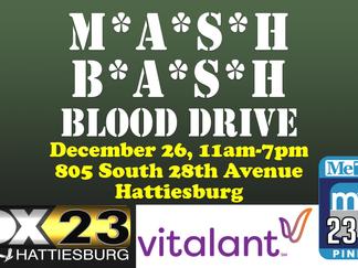 Vitalant, FOX23, myTV23 prepare for 2019 M*A*S*H Bash blood drive