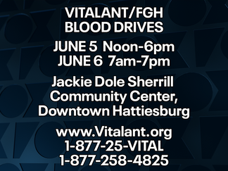 Vitalant, FGH collaborate for two blood drives
