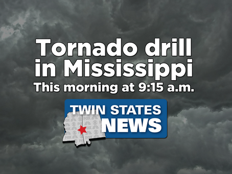 Officials hold tornado drill in Mississippi
