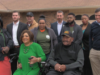 Vietnam veteran receives home renovations, making his home more accessible
