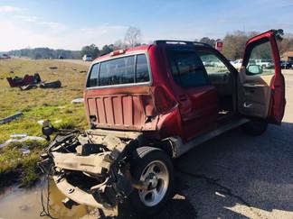 Crash in Jones County injures two motorists